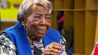 106-year-old Virginia McLaurin talks about dancing with Obama