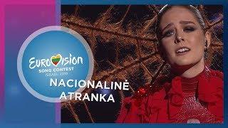 """Monika Marija - """"Criminal"""" - Nacionalinė Eurovizijos atranka"""