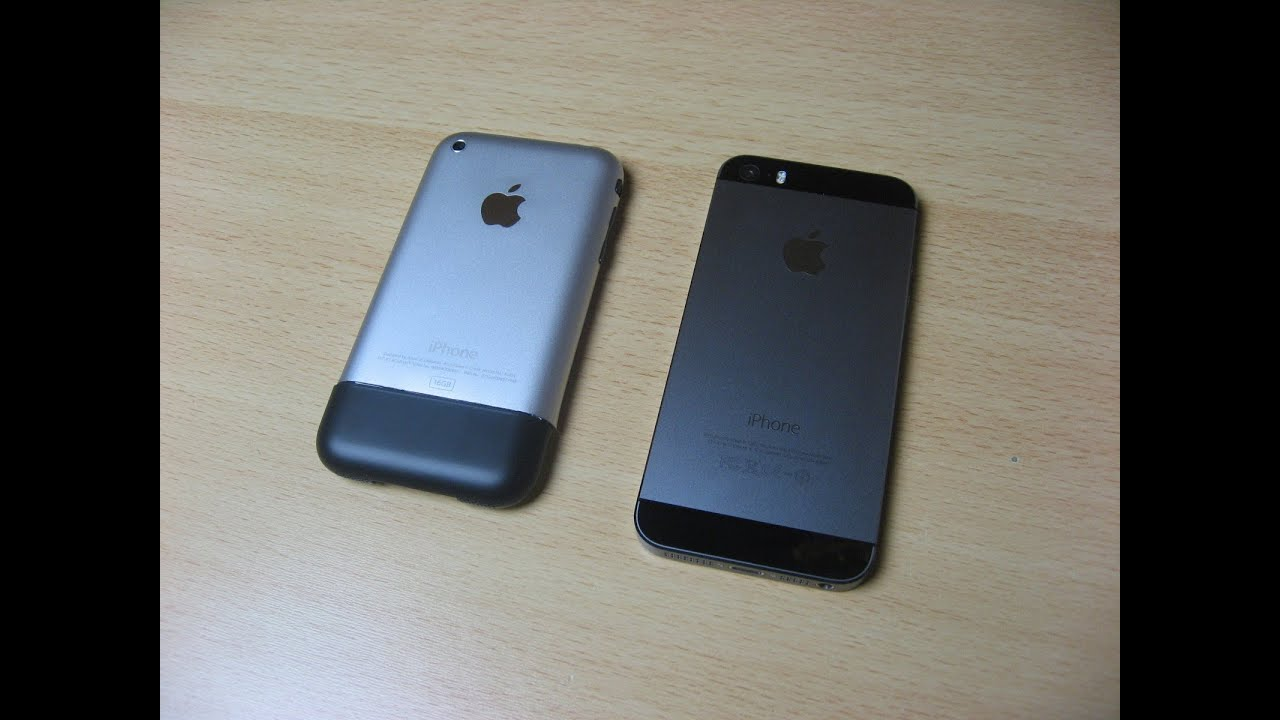 Iphone 2g  2007  Vs  Iphone 5s  2013  - Srovn U00e1n U00ed