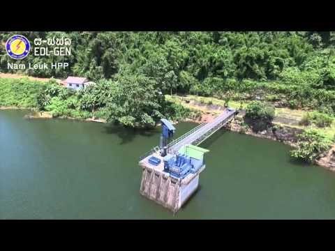Nam Leuk HPP - EDL-Gen's Hydropower Plant
