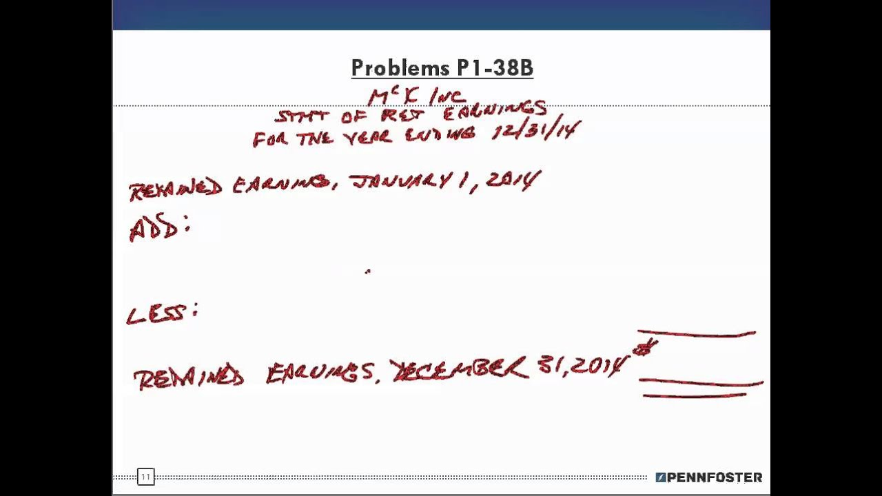 Financial Accounting Ch 1 Problems Group B P1 38B 3 - YouTube