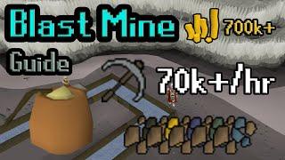 Blast Mine Guide | 70k+ XP/hr 700k+ GP/hr | Oldschool Runescape