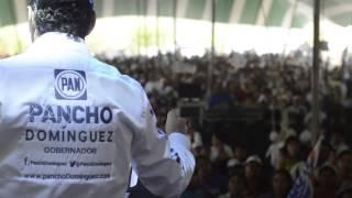 Reunión con vecinos de Peñamiller: Pancho Domínguez