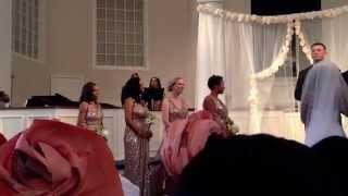 Colle and Daniel's wedding ceremony