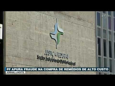 Operação Da PF Investiga Fraude Na Compra De Remédios