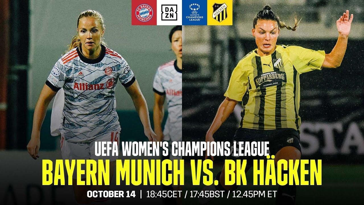 Download Bayern Munich vs. BK Häcken | UEFA Women's Champions League Matchday 2 Full Match