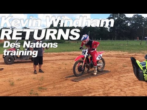 Kevin Windham returns to racing - Motocross Action Magazine