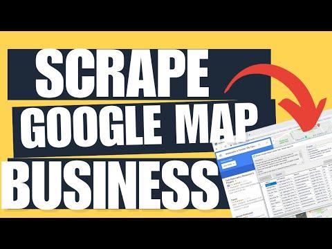 Free Crawler for Google maps  - YouTube