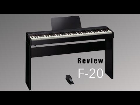 Review do Roland F-20 (Demo)