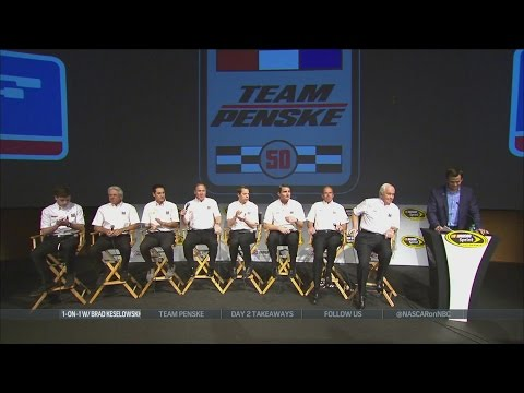 Brad Keselowski, Team Penske celebrating 50th Anniversary