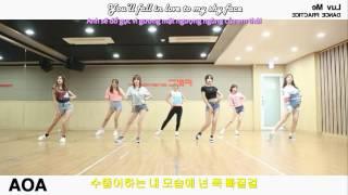 에이오에이 AOA – 러브 미 Luv Me E+Vsub