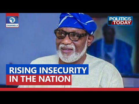Insecurity: Akeredolu Backs Ortom, Says 2023 Polls Might Not Hold