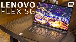 Lenovo Flex 5G review: 5G in a laptop, if you can find a signal