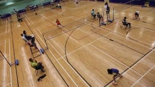 2016 - 2017年度九龍東區小學校際羽毛球比賽 (女子