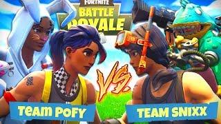Wer GEWINNT das KILLDUELL!? | Fortnite Battle Royale - (mit Fixx, Snoxh und Pozyh)