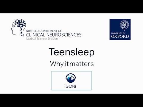 The Teensleep Study  - Why It Matters