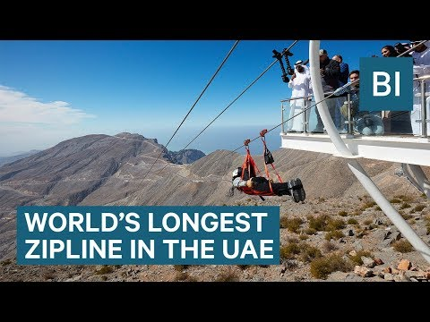 This Is The World's Longest Zipline, Where You Can Reach Speeds Of 90mph