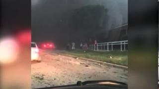 Очевидец снял первые секунды после взрыва в Техасе