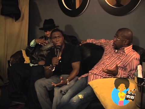 Kevin Hart, Patrice O'Neal & Keith Robinson Backstage at Helium (2008)