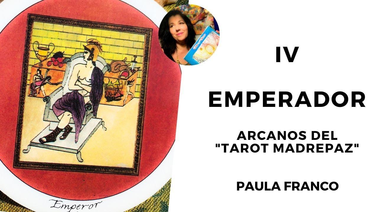 IV EL EMPERADOR , Arcanos Mayores del TAROT MADRE PAZ