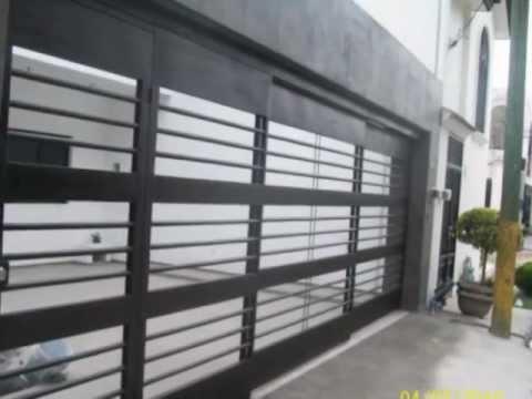 Herreria hjr dise os modernos youtube - Disenos puertas de madera exterior ...