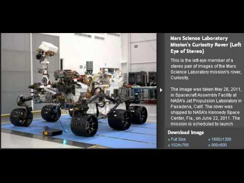 Próxima exploracion a Marte crater Gale
