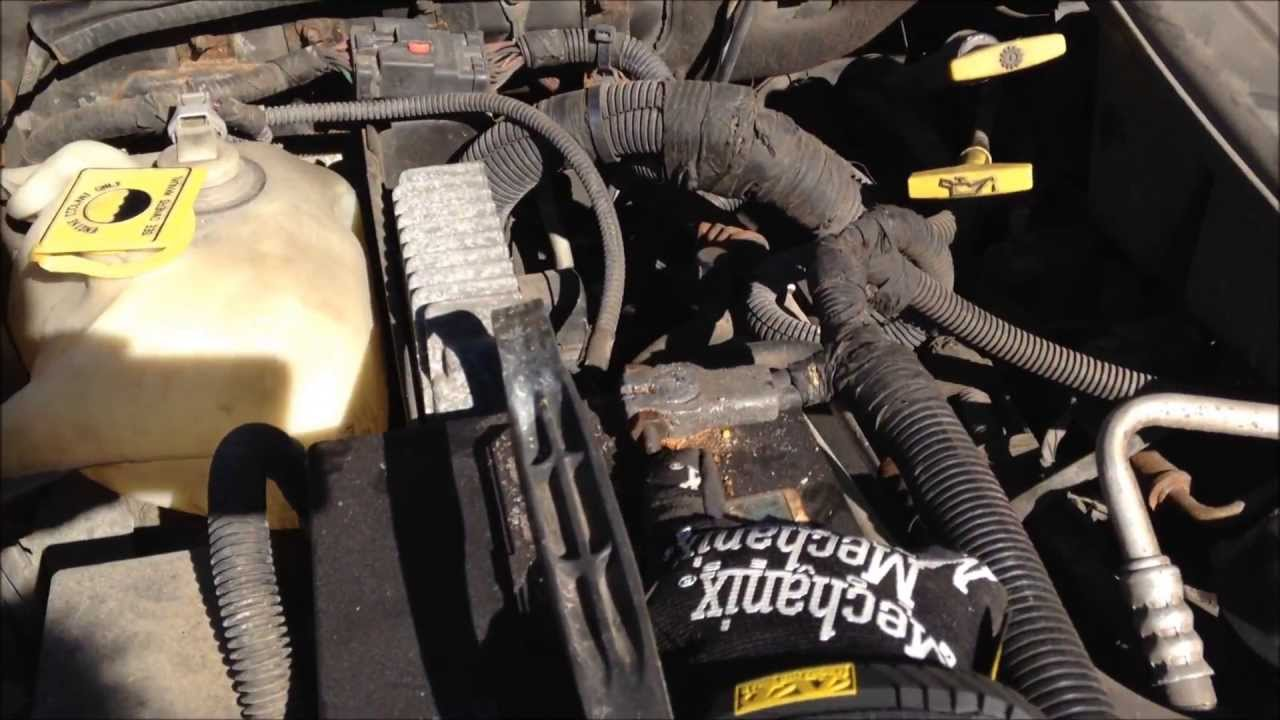 Jeep Grand Cherokee: How To Remove The Battery. WJ 2001