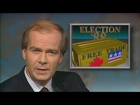 From the CBC vault: Free Trade during the 1988 campaign