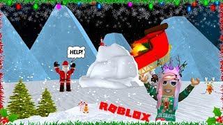 Escapar da véspera de Natal Obby em Roblox