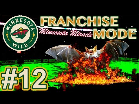 """NHL 18 Minnesota Wild Franchise Mode #12 """"Bats Out of Hell"""""""
