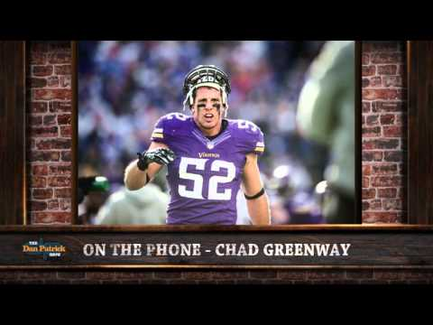 Chad Greenway on The Dan Patrick Show (Full Interview) 11/20/2015