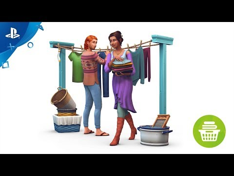 The Sims 4 Laundry Day: PS4 Official Trailer | PS4