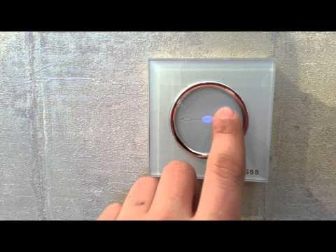 Электромонтаж в Тюмени - обзор сенсорных выключателей CGSS.