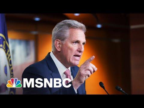 McCarthy Displaying 'Selfish Form Of Leadership' Says Congressman
