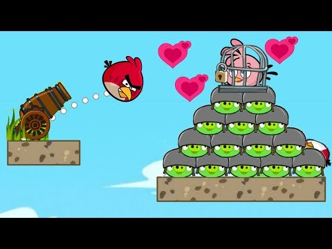 Angry Birds Heroic Rescue - KICK ALL PIGGIES AND RESCUE STELLA ULTIMATE LEVEL!