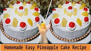 Pineapple Cake Recipe - Cake #Recipe|Pineapple cake | how to make pineapple cake