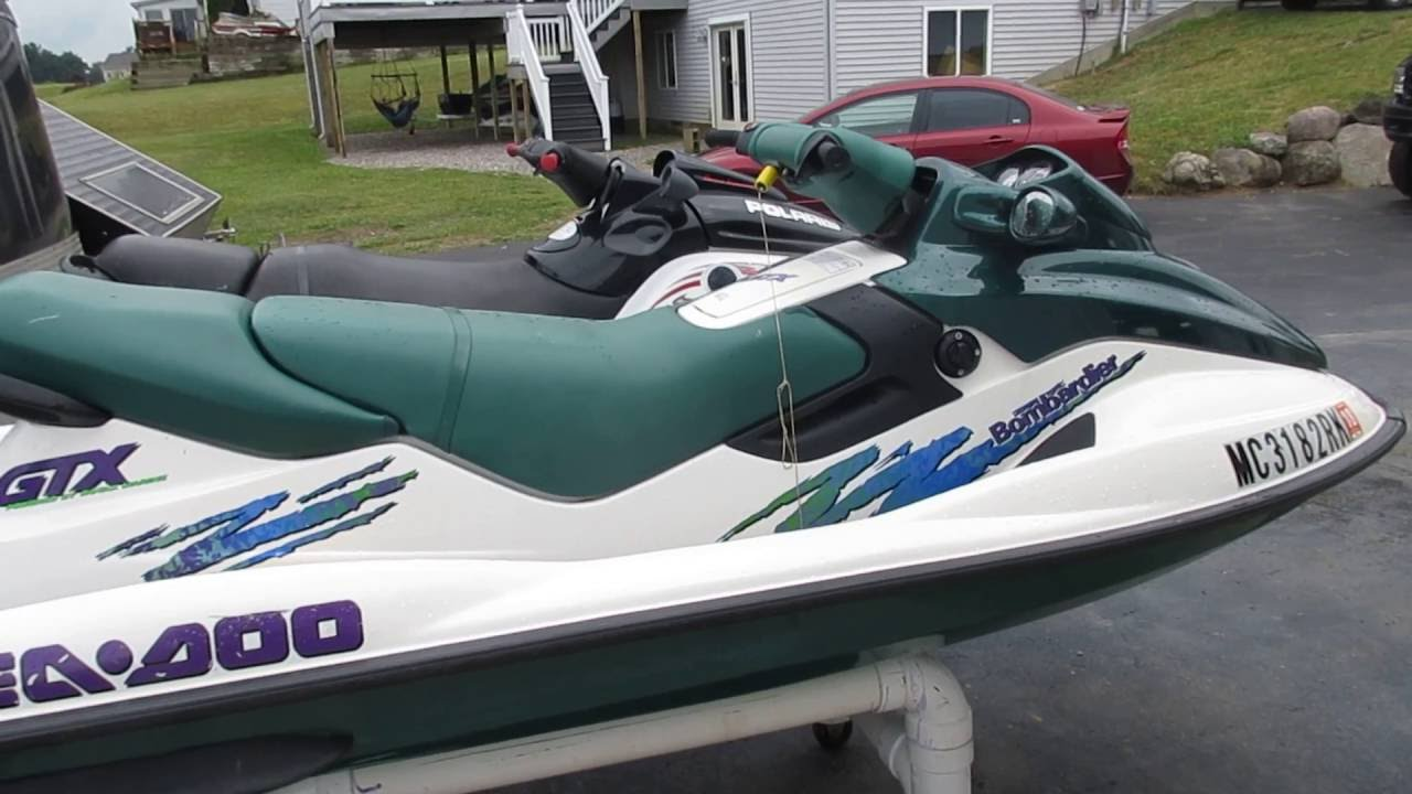 small resolution of 1997 seadoo gtx 787 800 for sale parts only not whole machine youtube