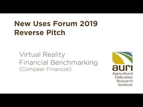 Open Innovation Reverse Pitch Session: Virtual Reality Financial Benchmarking