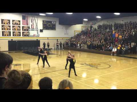 South Carroll Pep Rally Dance 2015
