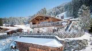 Die Bärenhütte - Luxus-Jagdhütte und prachtvolles Chalet in Jochberg Kitzbühel