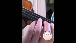 바이올린 비브라토 배우기♡
