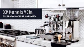 ECM Mechanika V Slim Espresso Machine Review