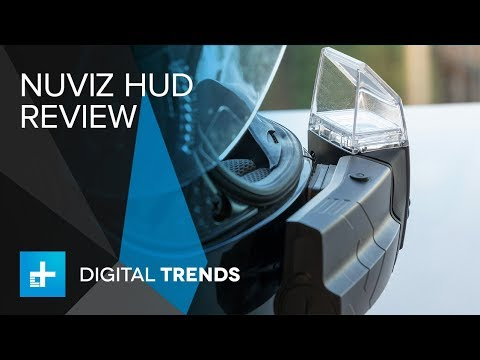 NUVIZ motorcycle head up display (HUD) Hands On Review
