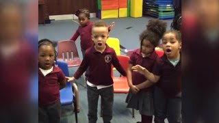 Adorable 4-Year-Olds Try Mannequin Challenge with Hilarious Results