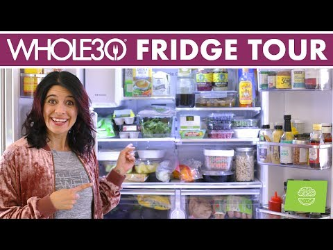 Whole30 Fridge Tour | What's In My Fridge, What I Eat On Whole30!