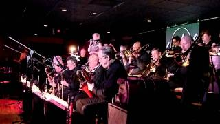 111226 Jerry Fischer Big Band Monday Night at Satchmo Blues Bar, Hosted by Stu Grant