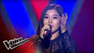 "Dagiisuren.P - ""Uzesgelent mini"" - Blind Audition - The Voice of Mongolia 2018"