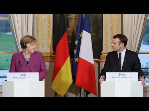 Alemanha e França condenam
