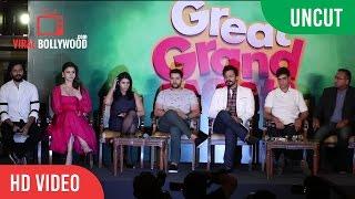 UNCUT - Great Grand Masti Leaked Press Conference | Vivek Oberoi, Ritesh Deshmukh, Urvashi Rautela