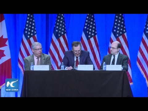 Live: NAFTA Talks Kicks Off in Washington